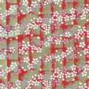 Floral yuzen, Assorted colours, 59.5cm x 44cm, 1 sheet, [WJ169]